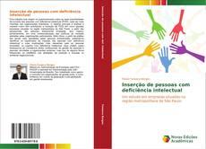 Copertina di Inserção de pessoas com deficiência intelectual