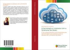 Capa do livro de A tecnologia e a pessoa com a Síndrome de Down