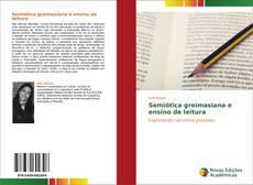 Capa do livro de Semiótica greimasiana e ensino de leitura