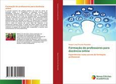 Bookcover of Formação de professores para docência online