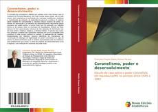 Capa do livro de Coronelismo, poder e desenvolvimento