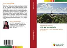 Bookcover of Lírica e sociedade