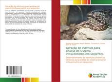Geração de estímulo para análise do sistema infravermelho em serpentes kitap kapağı