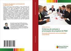 Borítókép a  Critérios de seleção e priorização de projetos de P&D - hoz