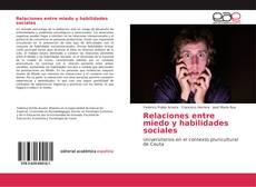 Portada del libro de Relaciones entre miedo y habilidades sociales