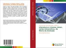Capa do livro de Literatura e cinema: Amar, verbo intransitivo, de Mário de Andrade