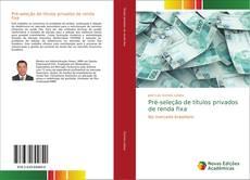 Bookcover of Pré-seleção de títulos privados de renda fixa