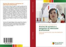 Capa do livro de Ensino de química e pesquisa na educação profissional