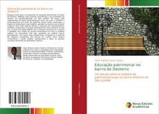 Capa do livro de Educação patrimonial no bairro do Desterro