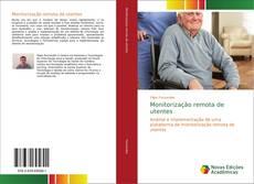 Capa do livro de Monitorização remota de utentes