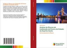 Bookcover of Análise de Riscos em Instituição de Ensino do Estado do Espírito Santo