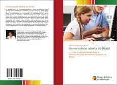 Capa do livro de Universidade aberta do Brasil