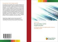 Buchcover von Os partidos como organizações