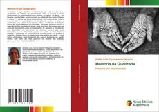Capa do livro de Memória da Quebrada