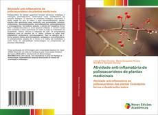 Capa do livro de Atividade anti-inflamatória de polissacarídeos de plantas medicinais