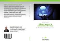 Bookcover of Эффективность экономики России