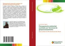 Capa do livro de Planejamento ambiental auxiliado por técnicas de geoprocessamento