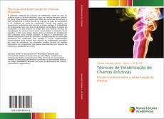 Portada del libro de Técnicas de Estabilização de Chamas Difusivas