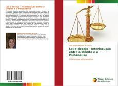 Portada del libro de Lei e desejo - Interlocução entre o Direito e a Psicanálise