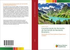 Capa do livro de Caracterização de Aerossóis do Semiárido do Nordeste Brasileiro
