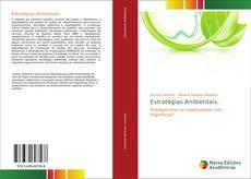 Buchcover von Estratégias Ambientais: