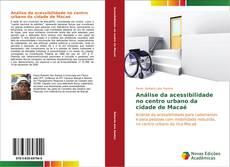 Capa do livro de Análise da acessibilidade no centro urbano da cidade de Macaé