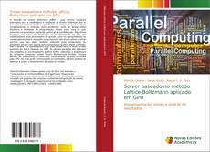 Buchcover von Solver baseado no método Lattice-Boltzmann aplicado em GPU