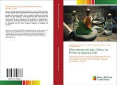 Capa do livro de Óleo essencial das folhas de Pimenta dioica Lindl