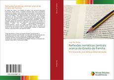 Capa do livro de Reflexões temáticas centrais acerca do Direito de Família