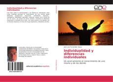 Capa do livro de Individualidad y diferencias individuales