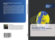 Bookcover of Survivable Multipath Provisioning in Mesh Networks