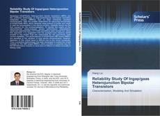Bookcover of Reliability Study Of Ingap/gaas Heterojunction Bipolar Transistors