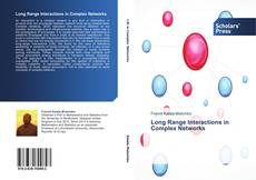 Bookcover of Long Range Interactions in Complex Networks