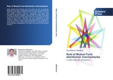 Role of Mutual Fund distribution intermediaries kitap kapağı