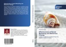 Buchcover von Effectiveness of Social Marketing and Behaviour Change