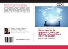Bookcover of Derechos de la personas, ante los delitos informáticos COIP-ECUADOR
