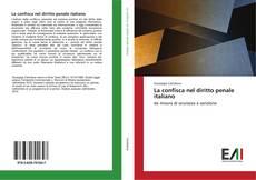 Portada del libro de La confisca nel diritto penale italiano