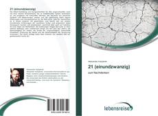 Bookcover of 21 (einundzwanzig)