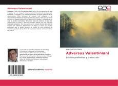 Buchcover von Adversus Valentiniani