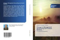 Copertina di Change in Management Accounting and Control Systems