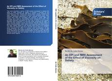 Buchcover von An EPI and fMRI Assessment of the Effect of Viscosity on Satiety