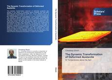 Capa do livro de The Dynamic Transformation of Deformed Austenite