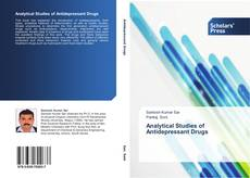 Copertina di Analytical Studies of Antidepressant Drugs
