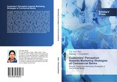 Buchcover von Customers' Perception towards Marketing Strategies of Commercial Banks