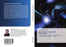 Обложка Automatic Control and Prognostic