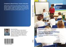 Portada del libro de Competency Based Primary Teacher Education