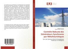 Capa do livro de Contrôle Robuste des Générateurs Synchrones par Métaheuristiques