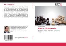 Capa do livro de Anti - Diplomacia