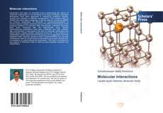 Couverture de Molecular interactions