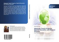 Buchcover von Adequate Yearly Progress, Special Education and Student Success
